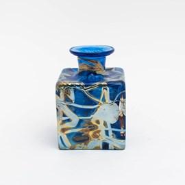 Art Nouveau Vase Tangle Small Blue