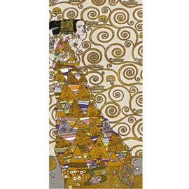Tapestry Klimt The Expectation Light