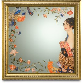 Mirror Lady with Fan | Klimt