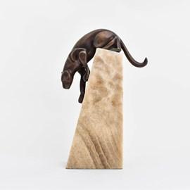 Sculpture Art Deco Panther