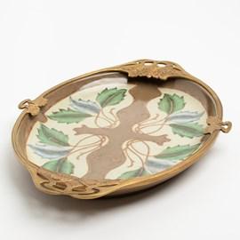 Art Nouveau Tray Porcelain