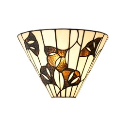Tiffany Wall Lamp Ginkgo Leaf
