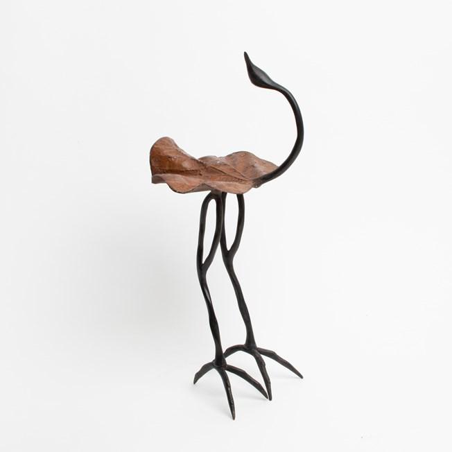 Sculpture Bird Bronze
