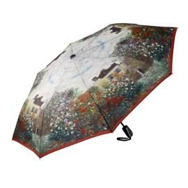 Umbrella The Garden in Argenteuil | Monet