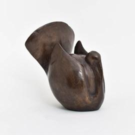 Bronze Statue Robust Bird