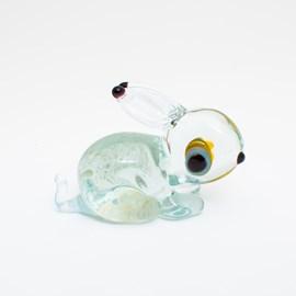 Glass Sculpture Sweet little Bunny