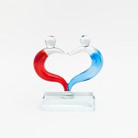 Glass Sculpture Love