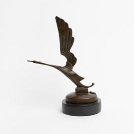 Bronze sculpture Art Deco Stork