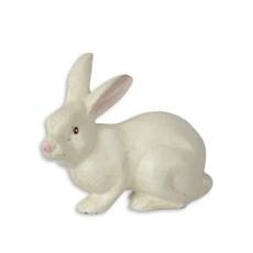 Rabbit sculpture cast iron