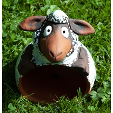 Garden Sphere Sheep Brown
