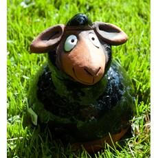 Garden Sphere Sheep Black