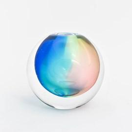 Globe vase Rainbow