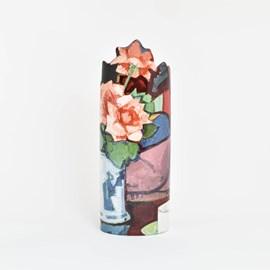 Vase Peploe 'Pink Roses'