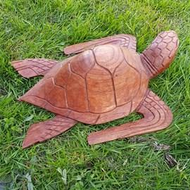 Wood Sculpture Schildpad