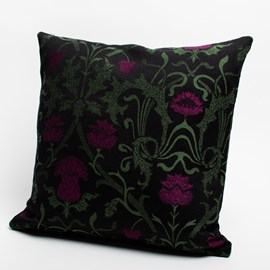 Cushion Curly thistle Violet