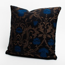 Cushion Curly thistle Blue