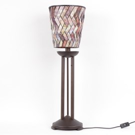 Table Lamp Tiffany Cylinder