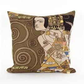 Jugendstil Cushion The Expectation Dark