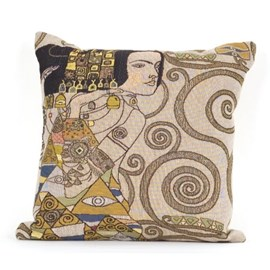 Jugendstil Cushion The Expectation Light