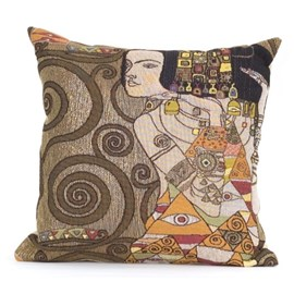 Jugendstil Cushion The Expectation Gold