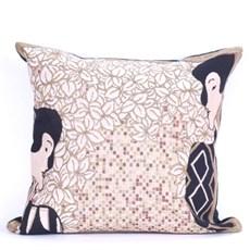 Jugendstil Cushion Silhouettes