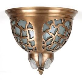 Jugendstil Ceiling Lamp Unica Bronze Ø 43cm