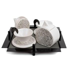 Two Chez Royal Tea Set