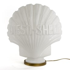 Shell Logo Table Lamp