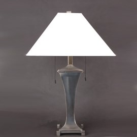 Table Lamp Curve with Linen Lampshade