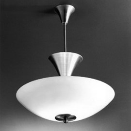 Hanging Lamp 7005 with Glass Bowl