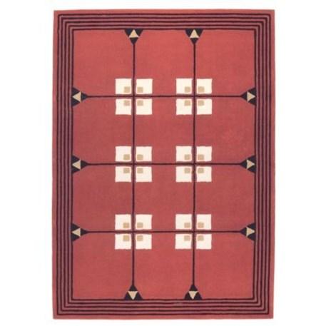 Geometrical Art Nouveau Carpet 1903