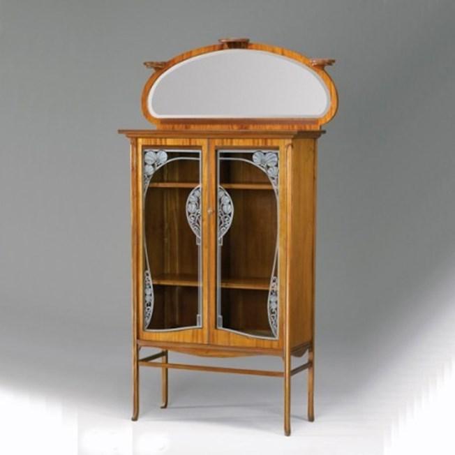 Art Nouveau Display Case Decorative