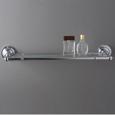 Bathroom Shelf Chrome with glass