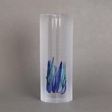 Glass Object/Vase Blue Ocean