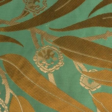 Art Deco Meubelstof.Furniture Curtain Fabric Eucalyptus