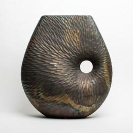 Metal Vase Sublime in Ceramic