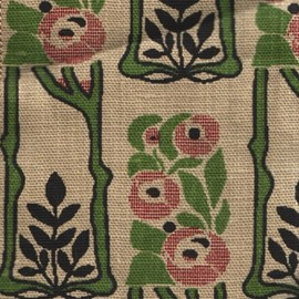 Curtain Fabric Rose Mackintosh Small
