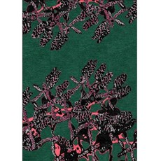 Rug Red Orchids