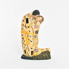 Klimt Sculpture The Kiss Small
