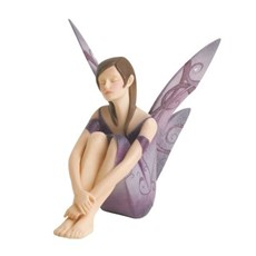 Sculpture Friendship Fairy Purple