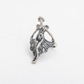 Art Nouveau Lady Ring