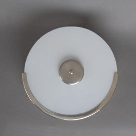 Staircase Lamp Circle Matte Nickel