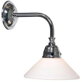 Bathroom Lamp Nostalgic Conical Chroom