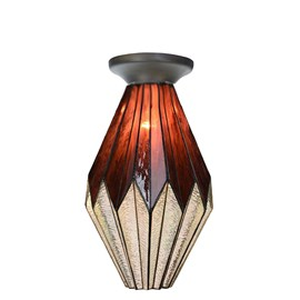 Tiffany Ceiling Lamp Dancing with Origami