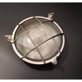 Wall / ceiling lamp round matt nickel