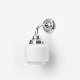 Wall lamp Small Stepped Cylinder Curve Chrome