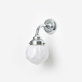 Wall lamp Lotus Curve Chrome