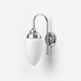 Wall lamp Menhir Small Meander Chrome