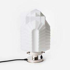 Table Lamp Chrysler 20's Nickel