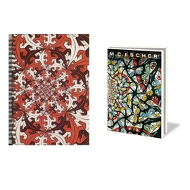 Notebook & Card Wallet Escher | Symmetric